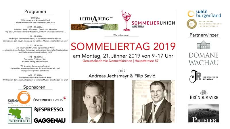 Sommeliertag 2019 in Donnerskirchen