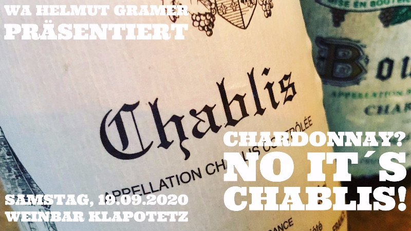 CHARDONNAY? no it´s Chablis